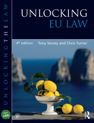 Unlocking EU Law book cover