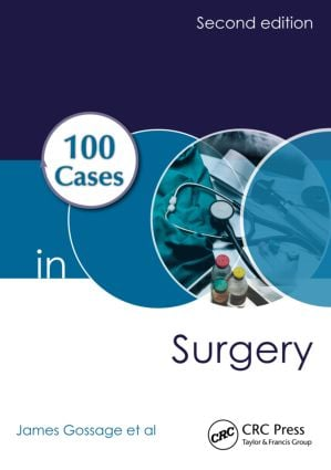 100 Cases in Surgery: 2nd Edition (Paperback) book cover