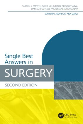 Single Best Answers in Surgery, Second Edition: 2nd Edition (Paperback) book cover