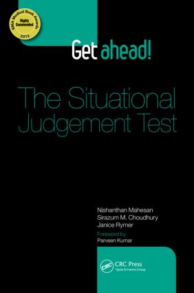Get ahead! The Situational Judgement Test (Paperback) book cover