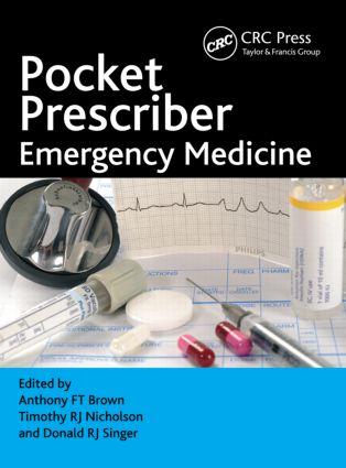 Pocket Prescriber Emergency Medicine (Paperback) book cover
