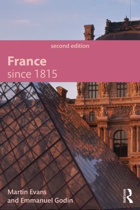 France Since 1815, Second Edition: 2nd Edition (Paperback) book cover