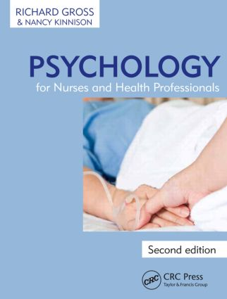 Psychology for Nurses and Health Professionals, Second Edition: 2nd Edition (Paperback) book cover
