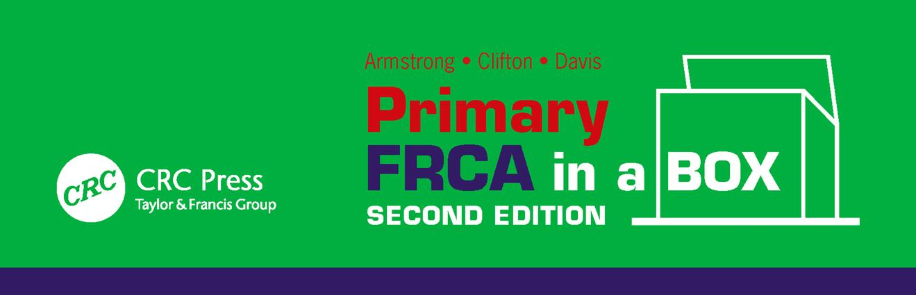 Primary FRCA in a Box, Second Edition book cover