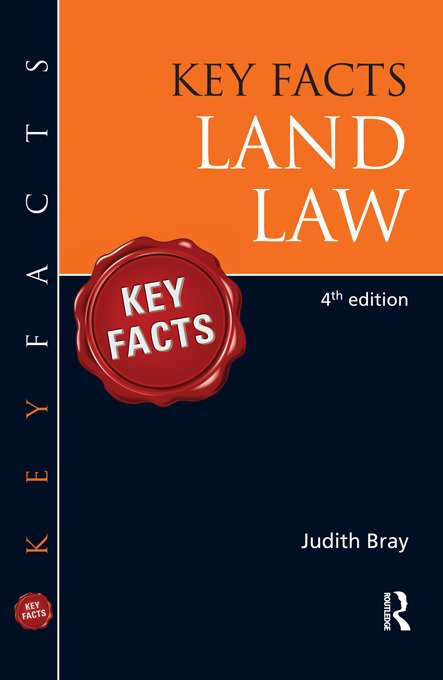 Key Facts Land Law, BRI book cover