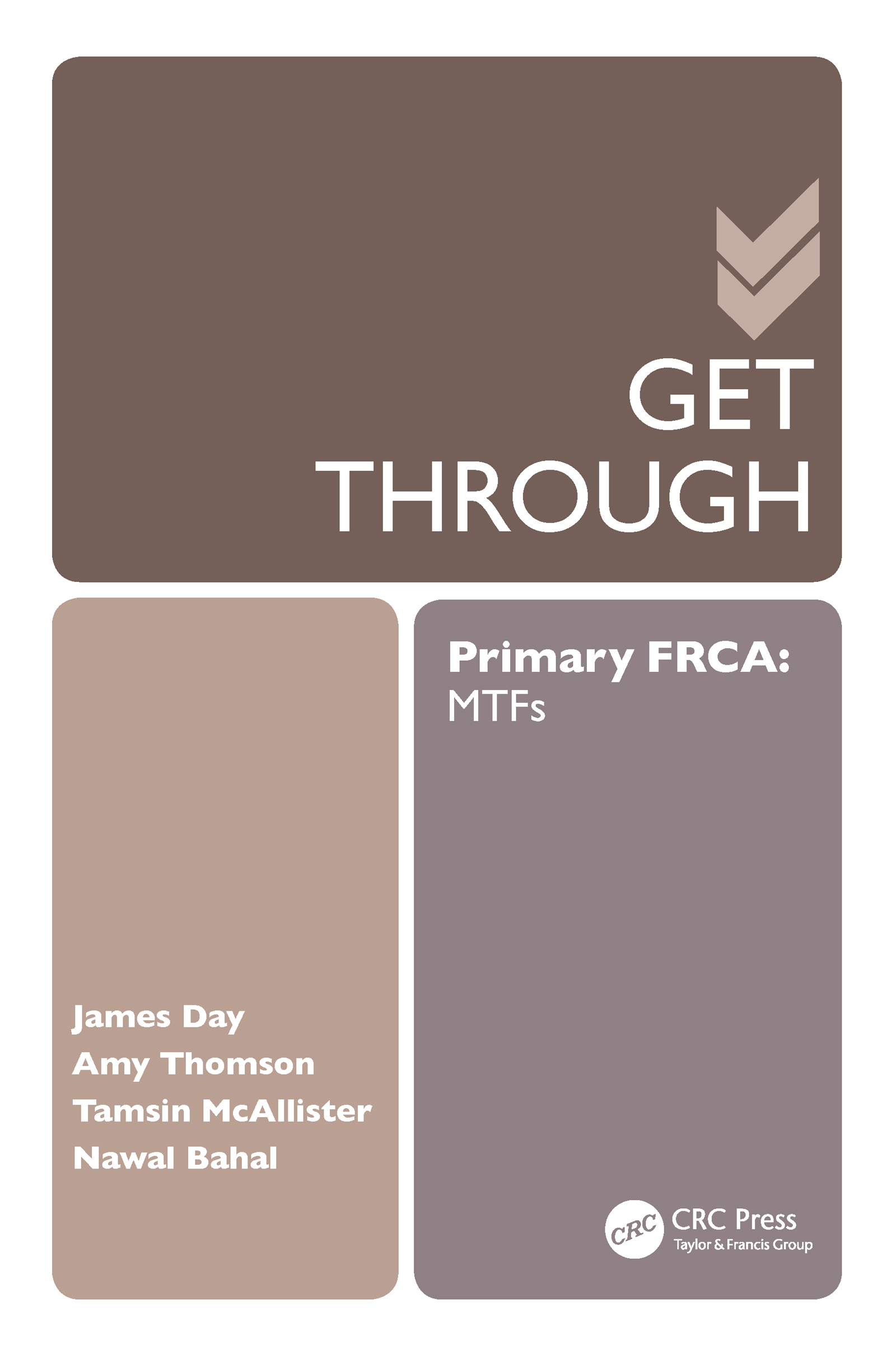 Get Through Primary FRCA: MTFs (Paperback) book cover