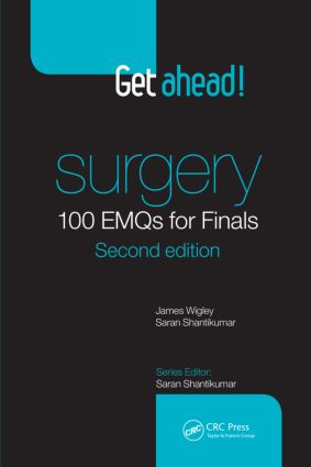 Get ahead! Surgery: 100 EMQs for Finals, Second Edition book cover