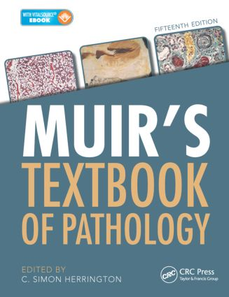 Muir's Textbook of Pathology, Fifteenth Edition book cover