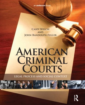American Criminal Courts: Legal Process and Social Context, 1st Edition (Hardback) book cover