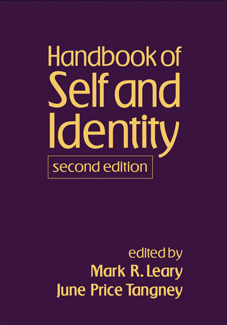 Handbook of Self and Identity: 2nd Edition (Hardback) book cover