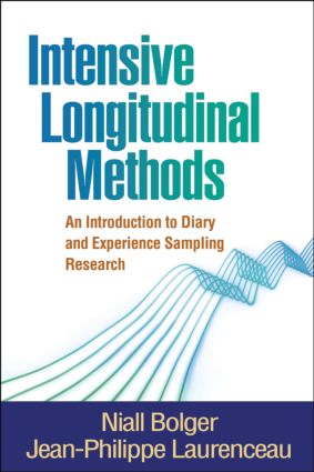 Intensive Longitudinal Methods: An Introduction to Diary and Experience Sampling Research (Hardback) book cover