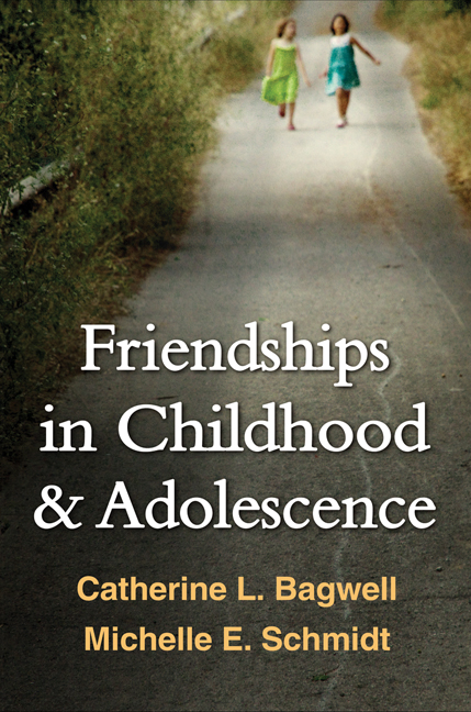 Friendships in Childhood and Adolescence (Paperback) book cover