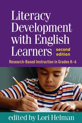 Literacy Development with English Learners, Second Edition: Research-Based Instruction in Grades K-6 book cover