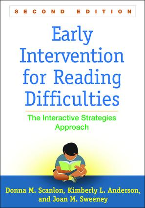 Early Intervention for Reading Difficulties, Second Edition: The Interactive Strategies Approach book cover