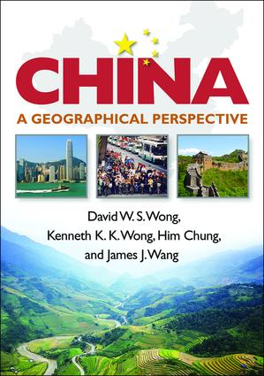 China: A Geographical Perspective book cover