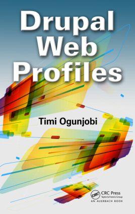 Drupal Web Profiles (Hardback) book cover