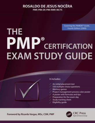 The PMP® Certification Exam Study Guide (Paperback) book cover