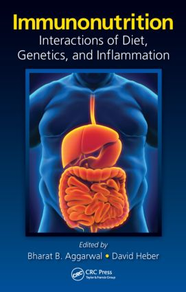 Immunonutrition: Interactions of Diet, Genetics, and Inflammation (Hardback) book cover