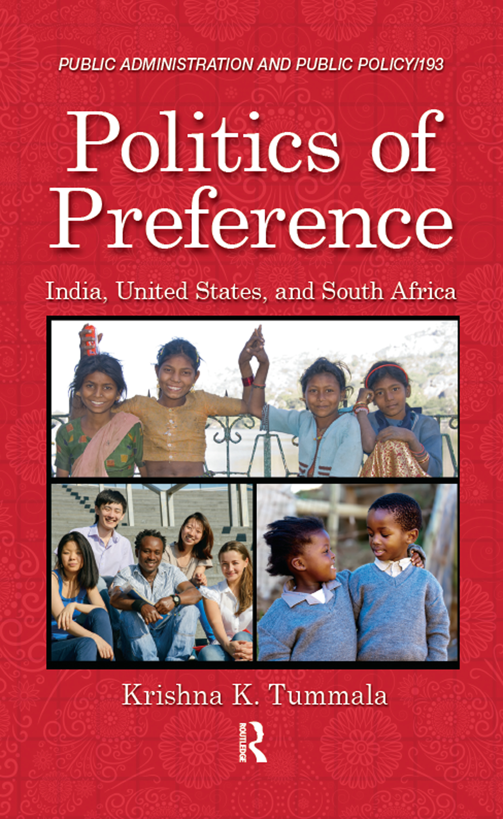 Politics of Preference: India, United States, and South Africa book cover