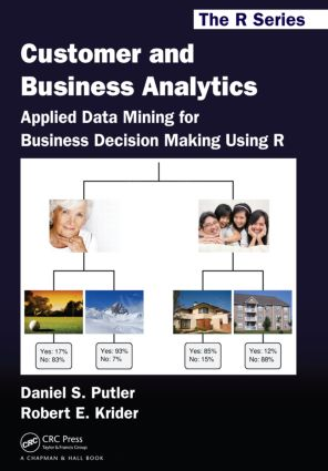 Customer and Business Analytics: Applied Data Mining for Business Decision Making Using R (Paperback) book cover