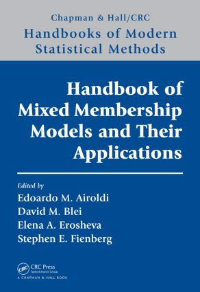 Handbook of Mixed Membership Models and Their Applications (Hardback) book cover