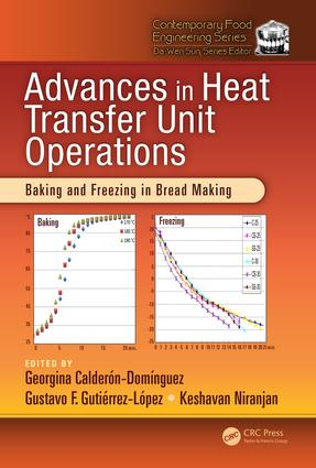 Advances in Heat Transfer Unit Operations: Baking and Freezing in Bread Making, 1st Edition (Hardback) book cover