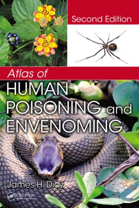 Atlas of Human Poisoning and Envenoming: 2nd Edition (Hardback) book cover