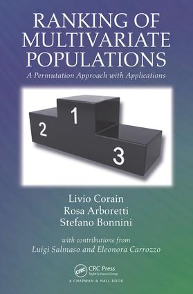 Ranking of Multivariate Populations: A Permutation Approach with Applications, 1st Edition (Hardback) book cover