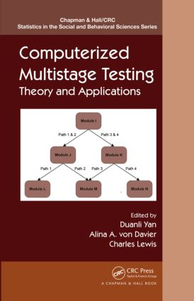 Computerized Multistage Testing: Theory and Applications (e-Book) book cover