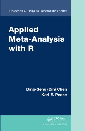 Applied Meta-Analysis with R: 1st Edition (Hardback) book cover