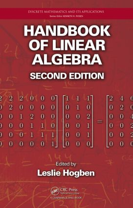 Handbook of Linear Algebra, Second Edition: 2nd Edition (Hardback) book cover