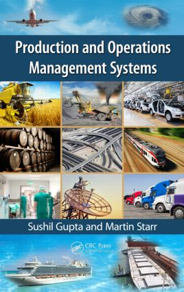 Production and Operations Management Systems: 1st Edition (Hardback) book cover
