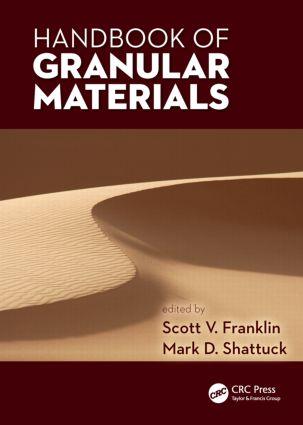Handbook of Granular Materials (Hardback) book cover