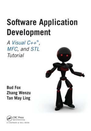 Software Application Development: A Visual C++, MFC, and STL Tutorial book cover