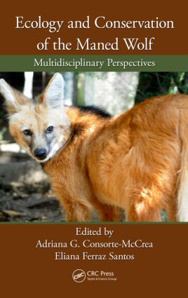 Ecology and Conservation of the Maned Wolf: Multidisciplinary Perspectives, 1st Edition (Hardback) book cover