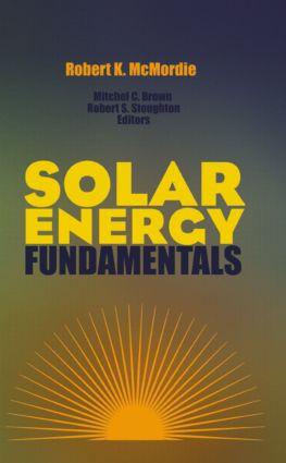 Solar Energy Fundamentals (Hardback) book cover