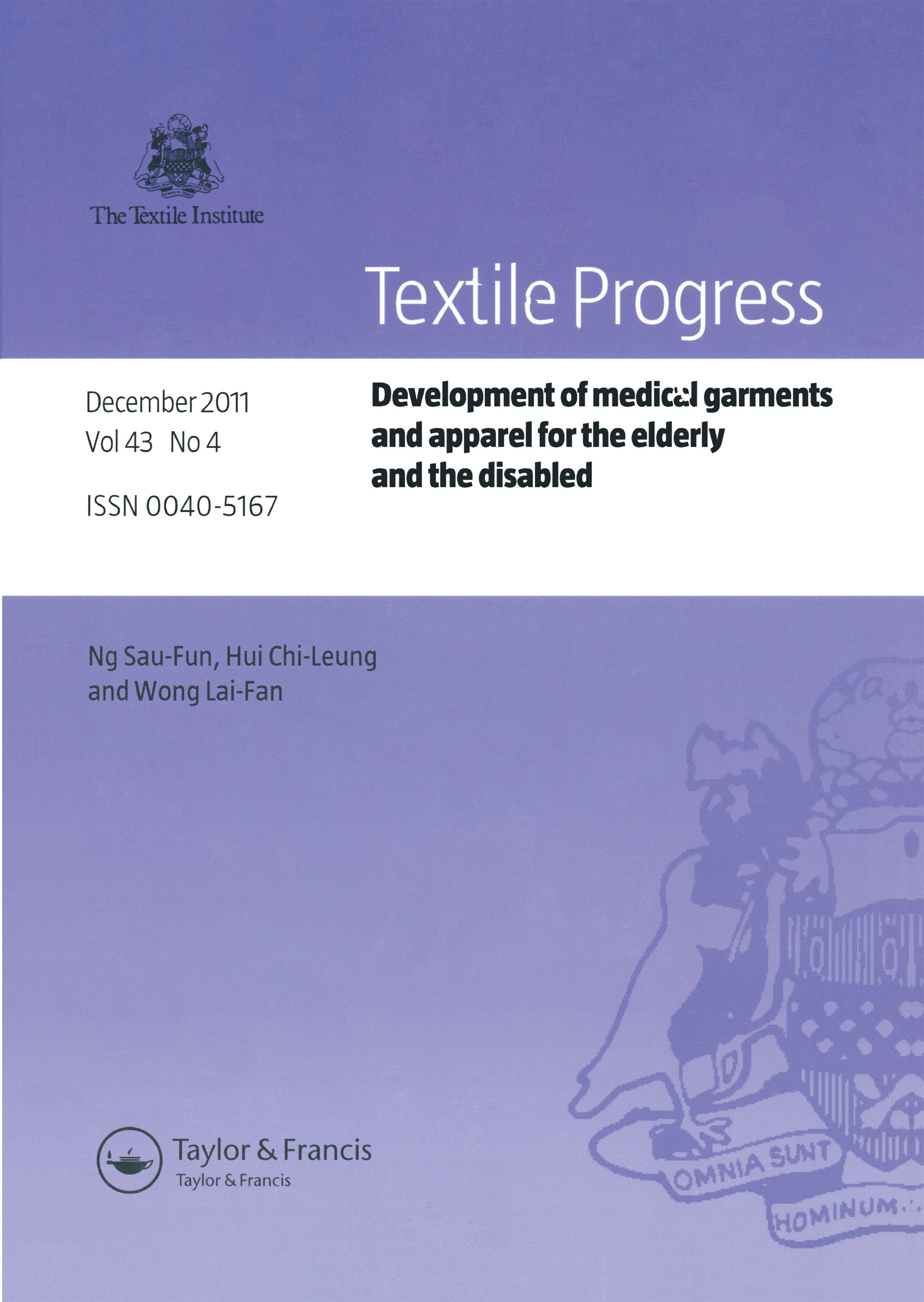 Development of Medical Garments and Apparel for the Elderly and the Disabled: 1st Edition (Paperback) book cover