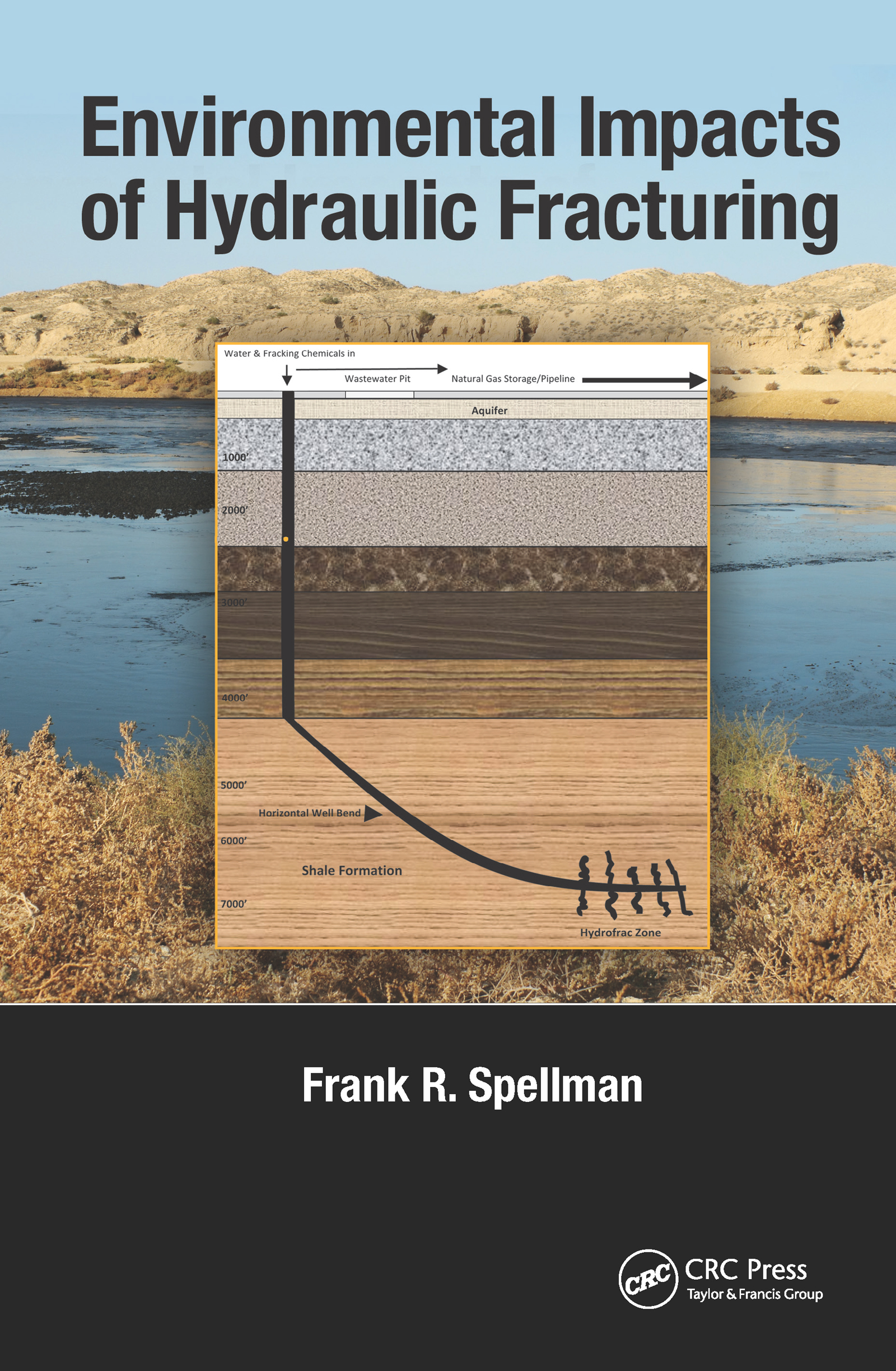 Environmental Impacts of Hydraulic Fracturing (Hardback) book cover