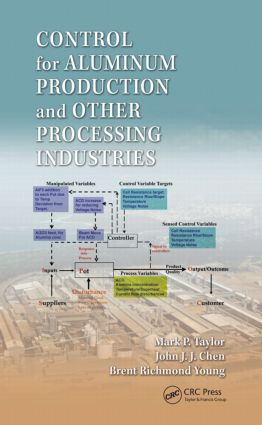 Control for Aluminum Production and Other Processing Industries (Hardback) book cover