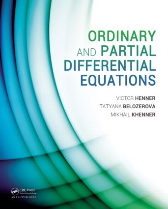Ordinary and Partial Differential Equations (Hardback) book cover