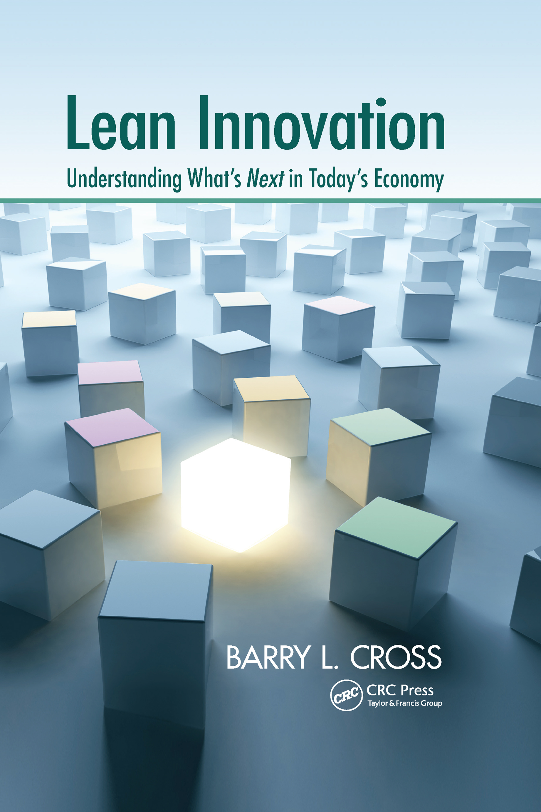 Lean Innovation: Understanding What's Next in Today's Economy, 1st Edition (Hardback) book cover