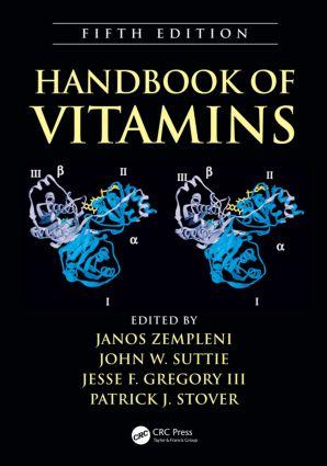Handbook of Vitamins: 5th Edition (Hardback) book cover