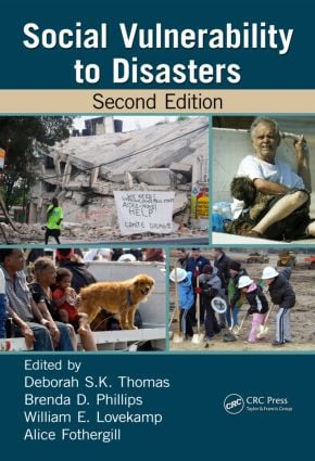 Social Vulnerability to Disasters, Second Edition: 2nd Edition (Hardback) book cover