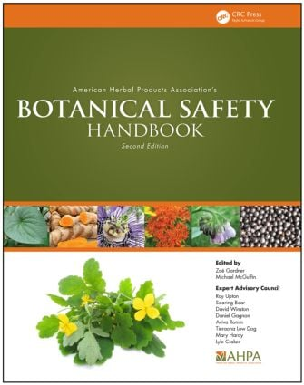 American Herbal Products Association's Botanical Safety Handbook: 2nd Edition (Hardback) book cover