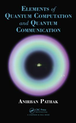 Elements of Quantum Computation and Quantum Communication (Hardback) book cover