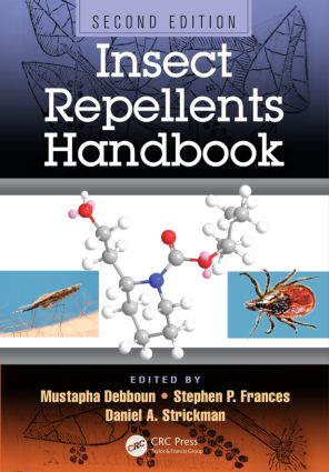 Insect Repellents Handbook: 2nd Edition (Hardback) book cover