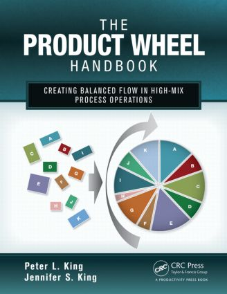 The Product Wheel Handbook: Creating Balanced Flow in High-Mix Process Operations, 1st Edition (Paperback) book cover