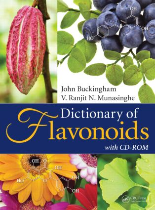 Dictionary of Flavonoids with CD-ROM: 1st Edition (Hardback) book cover