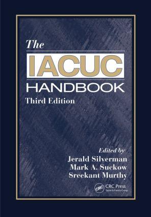 The IACUC Handbook: 3rd Edition (Hardback) book cover