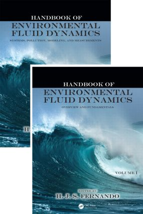 Handbook of Environmental Fluid Dynamics, Two-Volume Set: 1st Edition (Hardback) book cover